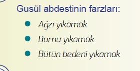 Gusül (boy) Abdesti Nasıl Alınır Gusül Abdesti Bozan Durumlar.
