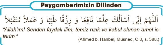 Hz. Muhammed tavsiye ettiği ve çok okuduğu dualar.
