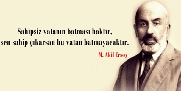 Mehmet Akif Ersoy Resimli Sözleri.