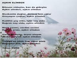 yunus emre-şiirleri-.